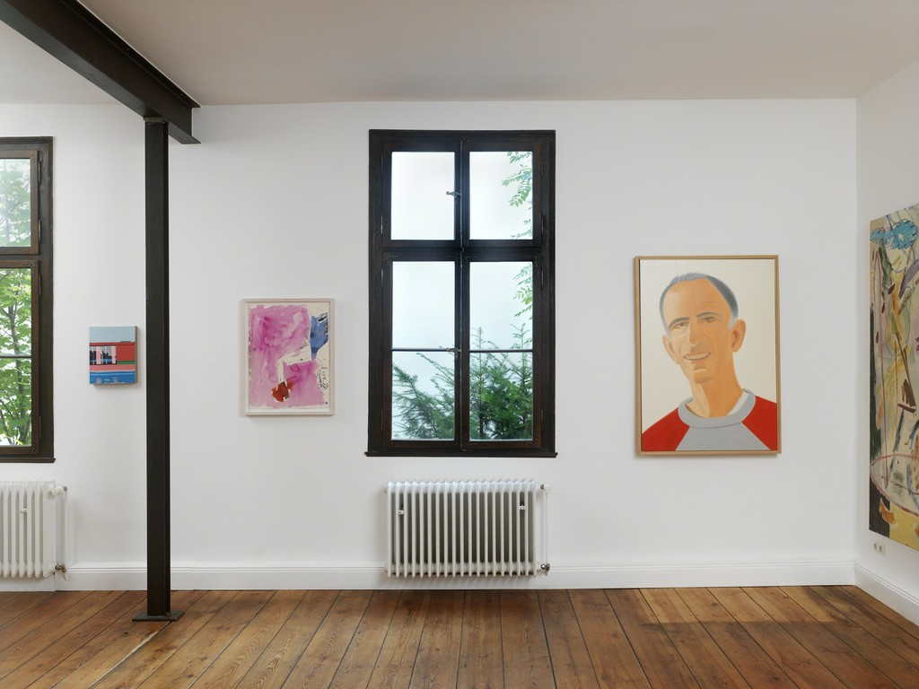 Guy Yanai // Georg Baselitz // Alex Katz // Jon Pilkington // Courtesy David Achenbach Projects // Photographer Achim Kukulies, Düsseldorf