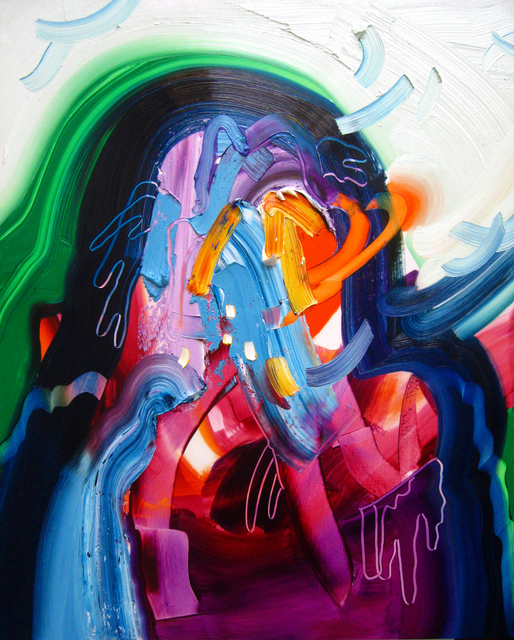 , 'Ooze (self portrait),' 2014, AREA Gallery