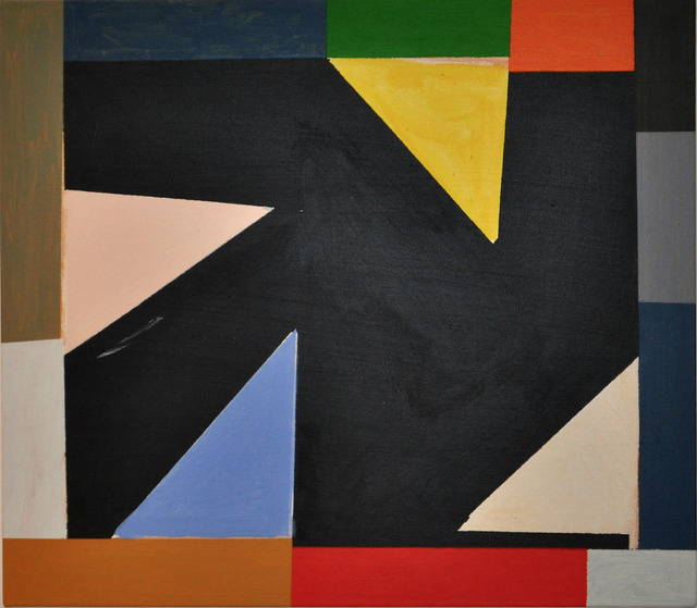 , 'Untitled (Ochre for GR),' 2015, Maddox Arts