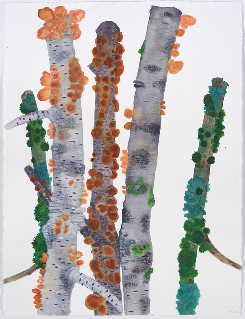 Katie DeGroot, 'Accessories Redux', 2020, Drawing, Collage or other Work on Paper, Watercolor on paper, Kathryn Markel Fine Arts