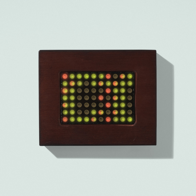 Jenny Holzer, 'Living 2', Other, Electronic LED sign and diodes, Anodized aluminum, Rago/Wright