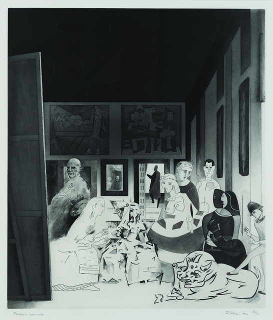 , 'Picasso's Meninas,' 1973, Sims Reed Gallery