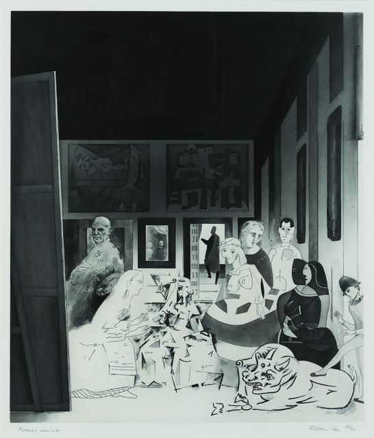 Richard Hamilton, 'Picasso's Meninas', 1973, Sims Reed Gallery