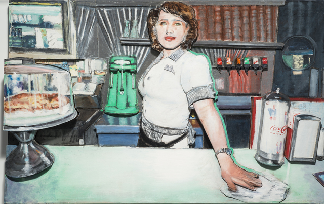 , 'Deco Diner II,' 1996, 101/EXHIBIT
