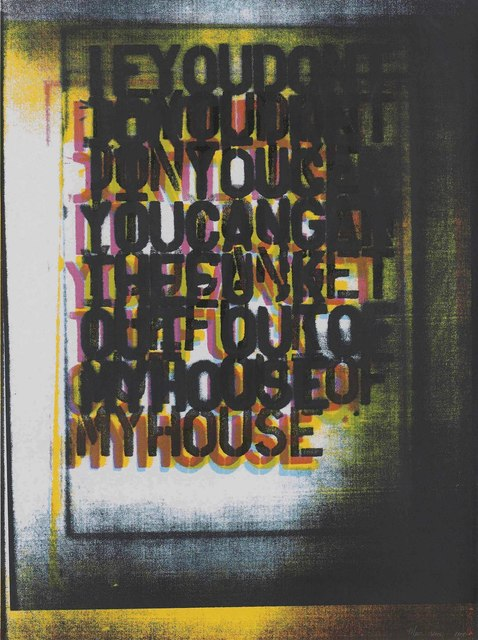 Christopher Wool, 'My House I', 2000, Christie's