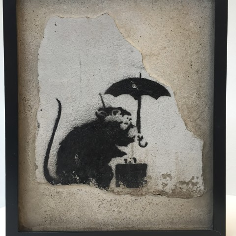 Banksy, 'Umbrella Rat', 2003, Stockinger Art Advisory