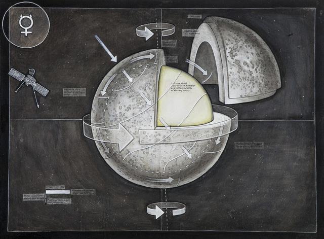 , 'Planets: Mercury (v.1.1),' 2015, Mirus Gallery