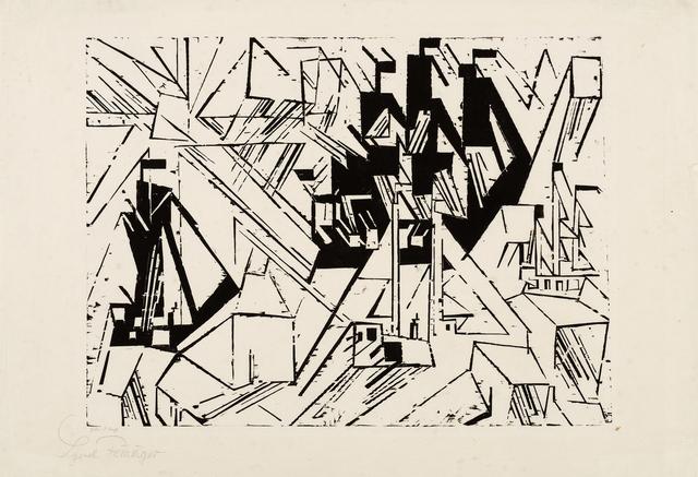 , '(Marine),' 1918, Moeller Fine Art