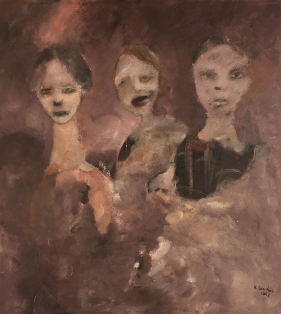 , 'A triologia dos olhos tristes,' 2017, Ed Cross Fine Art