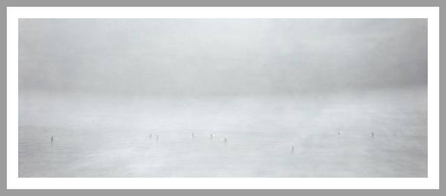 , 'Grey Study (Surfer) xl_02_09,' 20013, Galerie Andreas Binder