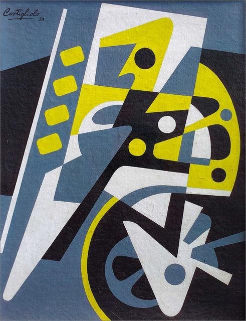 , 'Composición Maquinística,' 1950, Galería de las Misiones