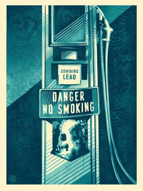 Shepard Fairey, 'Danger no smoking', 2016, DIGARD AUCTION