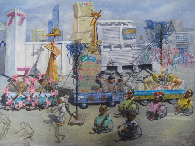 , 'The end of the Moomba parade,' 2018, Australian Galleries