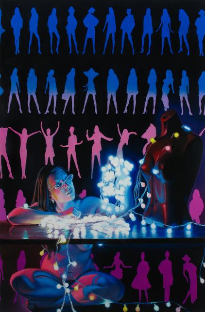 , 'Untitled 001 (Glowing Woman),' 2014, Benjaman Gallery Group