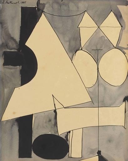 Robert Motherwell, 'Untitled', Christie's