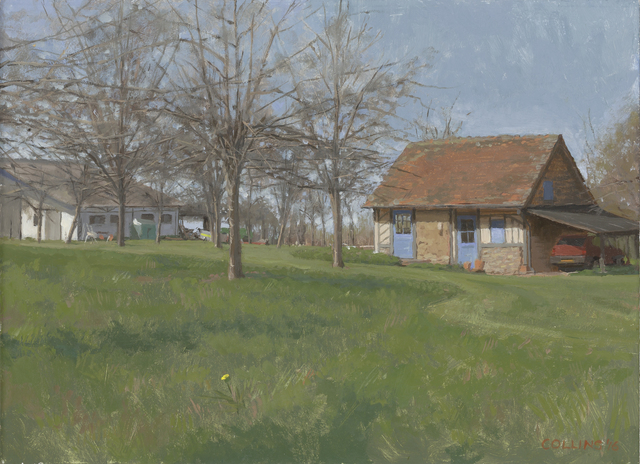 Jacob Collins, 'Normandie Cottage with Apple Trees', 2016, Adelson Galleries