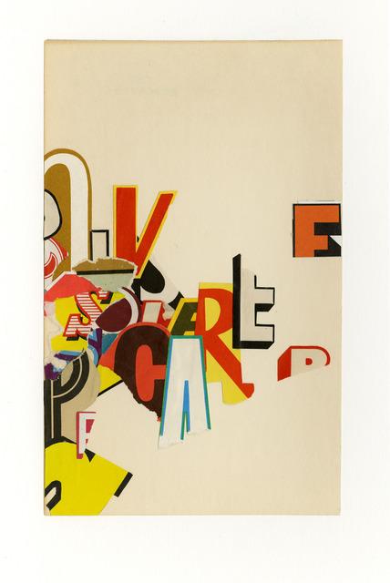 , 'Care Free,' 2015, ACA Galleries