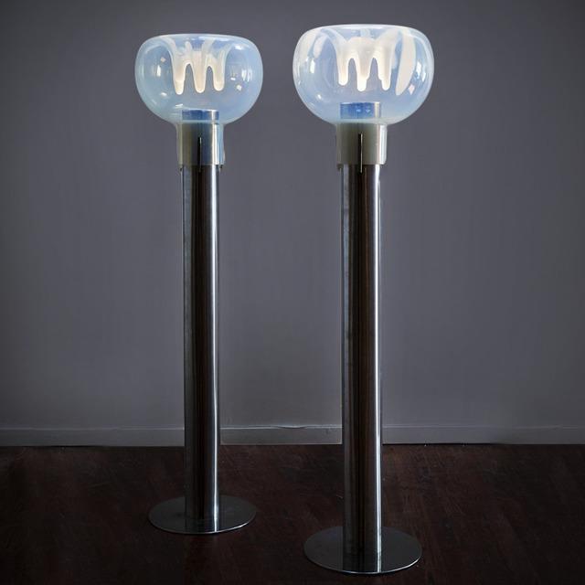 , 'Pair of Floor Lamps,' ca. 1970, Nicholas Kilner