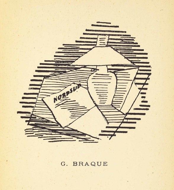 Georges Braque, 'Pierre Reverdy, Les Ardoises du toit, Paul Birault, Paris, 1918', Christie's