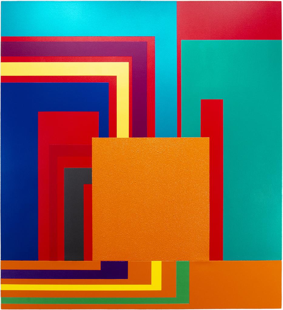 Peter Halley, Emulation, 2002, 227,3 x 206,4 cm © Peter Halley, Olbricht Collection