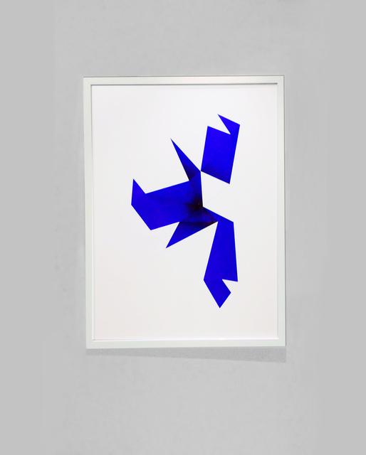 , 'UF 07022012 Blue,' 2013, Air Mattress Gallery