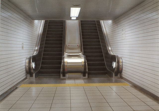 , 'Escalator#2,' 2006, Aki Gallery