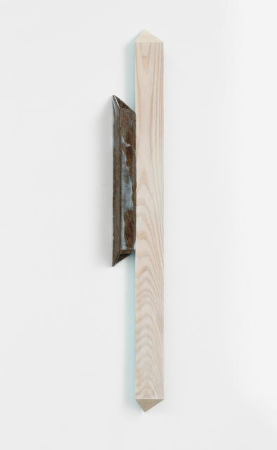 Henrik Eiben, 'CISMA (What If I Don't)', 2019, Sculpture, Ceramic and wood, Bartha Contemporary