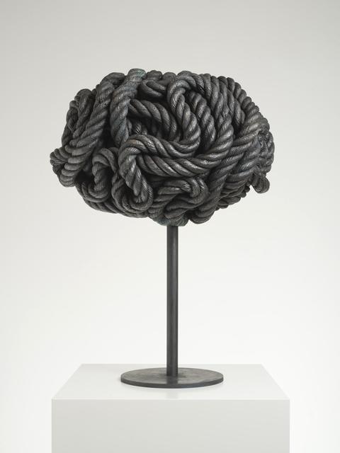 Michael Sailstorfer, 'Brain Q', 2019, Sculpture, Bronze, KÖNIG GALERIE