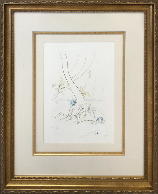 Salvador Dalí, 'L'ARBREDE CONNAISSANCE (THE TREE OF KNOWLEDGE)', 1974, Gallery Art