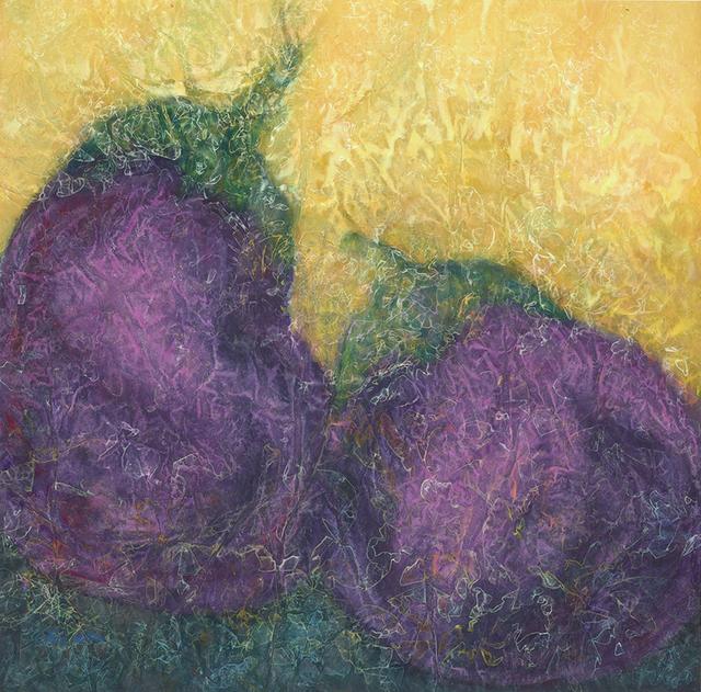 , 'Two Aubergines,' 2013, Kwai Fung Hin