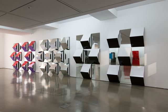 , 'Installation view of <Variations, Situated and In Situ Works>, Daniel Buren Solo Exhibition at 313 Art Project, 2015,' 2015, 313 Art Project