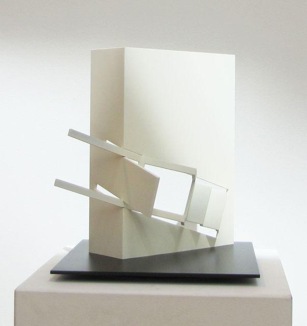 Fletcher Benton, 'Folded Square Alphabet H, A.P.', 2014, Yares Art