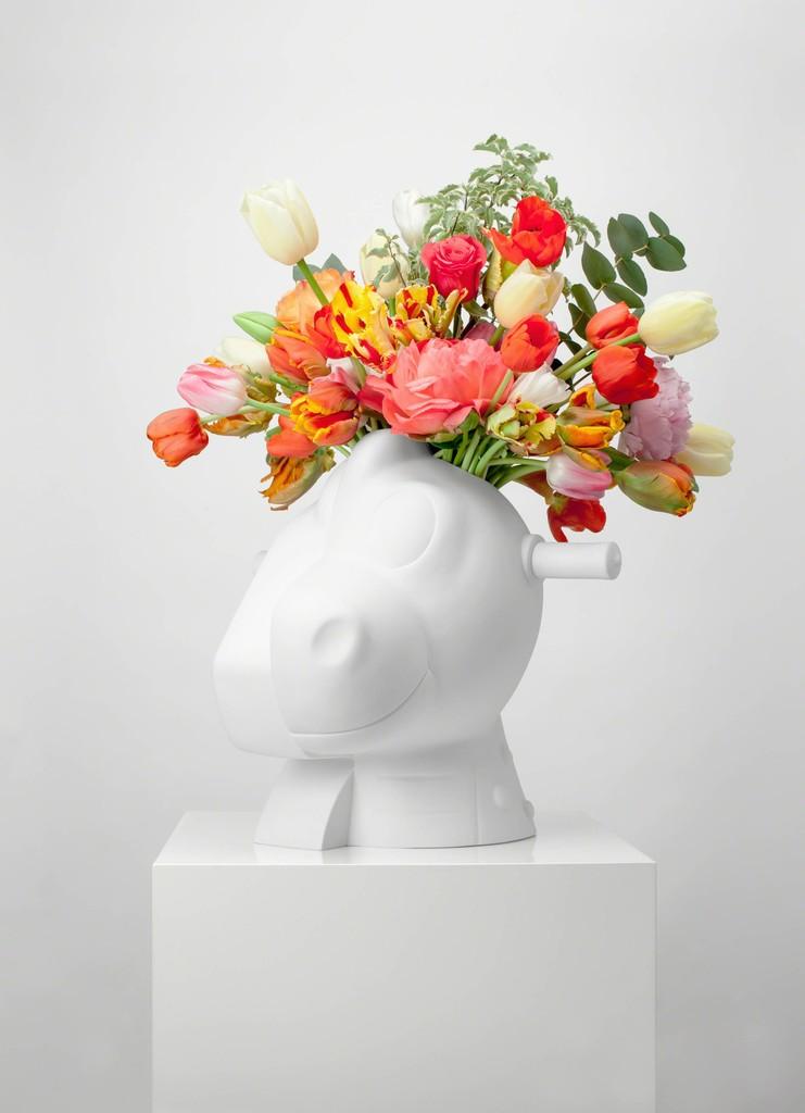 Split Rocker Vase by Bernardaud