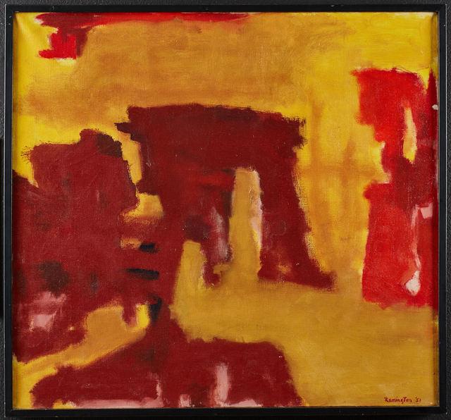 , 'Untitled,' 1951, di Rosa