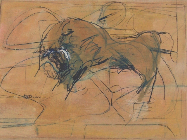 , 'Angry Bull,' 1960, Childs Gallery