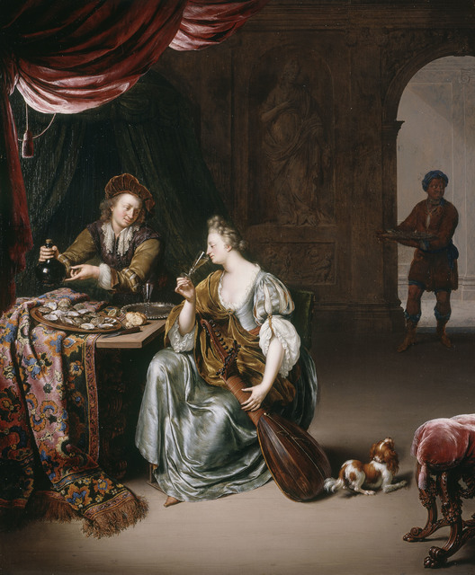 , 'The Neglected Lute,' 1708, Royal Collection Trust
