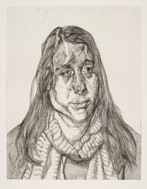 , 'Portrait Head,' 2001, Osborne Samuel