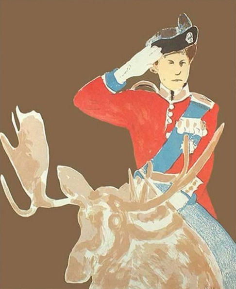 Charles Pachter, 'Queen on Moose', 1973, Caviar20