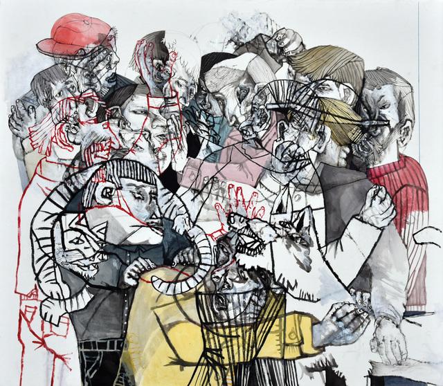 , 'Juntos y tambien mezclados,' 2017, Galerie Claire Corcia