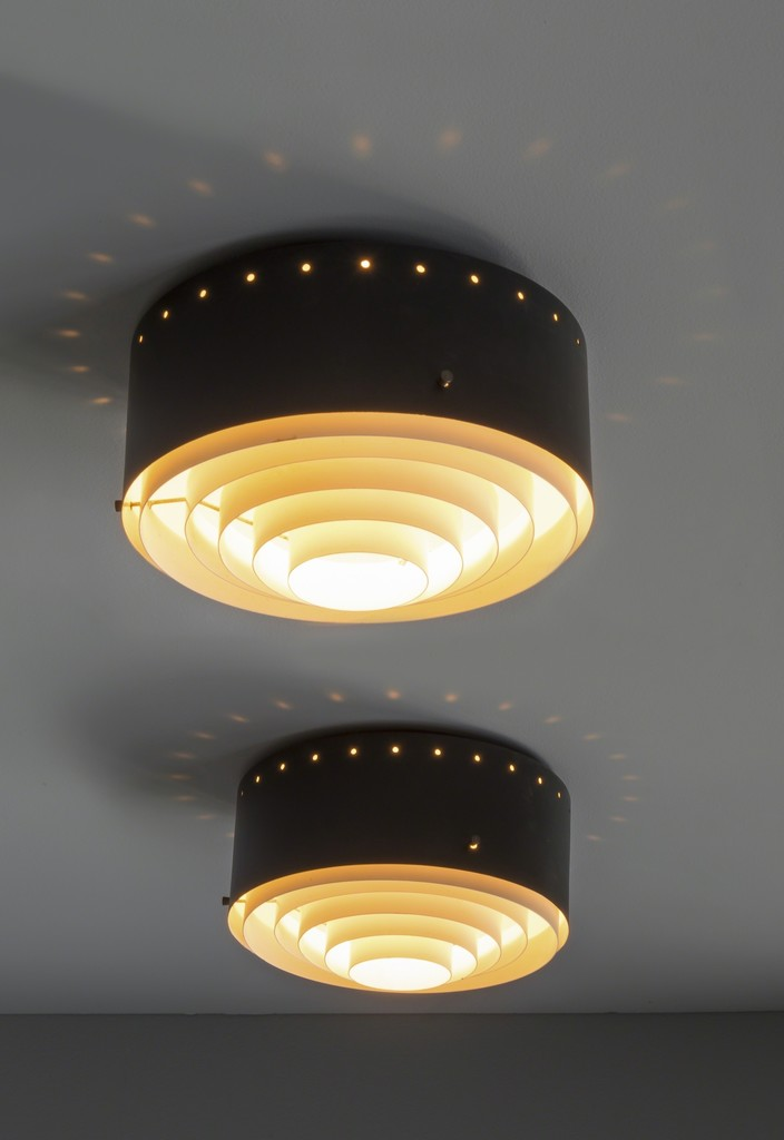 Pair of ceiling lights 237