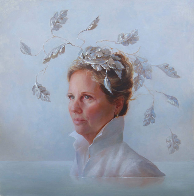Melinda Borysevicz, 'June (Portrait of June Stratton)', 2019, Painting, Oil on panel, 33 Contemporary