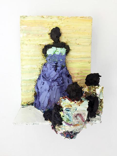 , 'Duchess in purple,' 2018, Galerie C.O.A