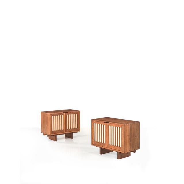 George Nakashima, 'Pair Of Cabinets', 1959, PIASA