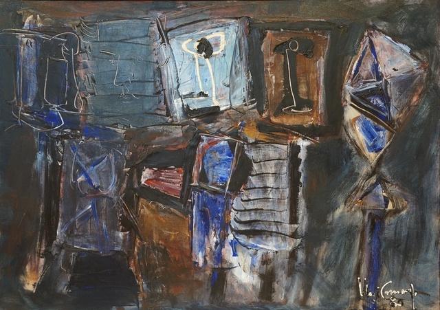 , 'O pintor e o seu pátio,' 1980, Pinakotheke Cultural