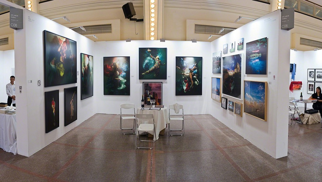ART LABOR Gallery booth at Photo Shanghai 2015