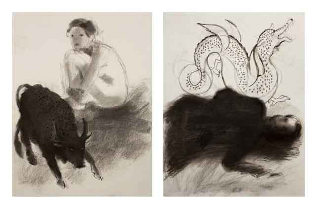 Orkideh Torabi, 'Struggle', 2016, Western Exhibitions