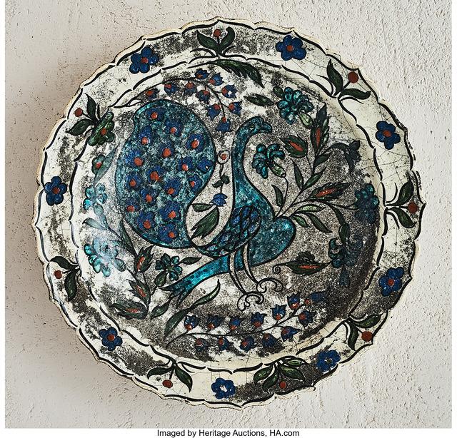 Jean-Jacques Lachenal, 'Peacock Platter', circa 1925, Heritage Auctions