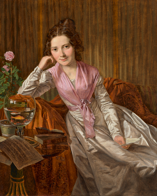 , 'Actress Therese Krones,' 1824, Daxer & Marschall