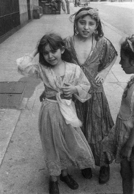 Helen Levitt, 'N.Y.C. (Gypsy girls)', ca. 1942, Laurence Miller Gallery