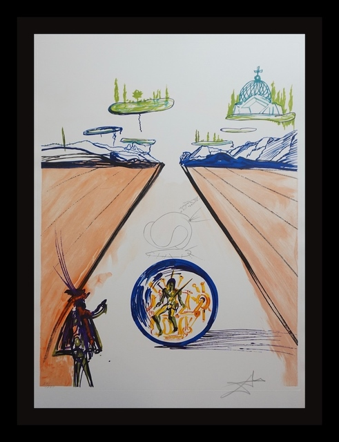 Salvador Dalí, 'Imagination & Objects of the Future Intra-Uterine Paradisiac Locomotion', 1975, Fine Art Acquisitions